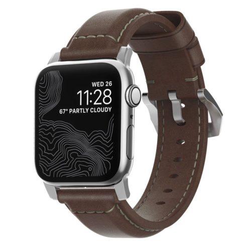 Nomad Reim for Apple Watch i ekte skinn