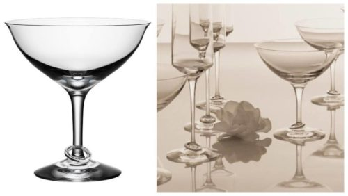 Årets ideer til bryllupsgave: Amor Vincit Omnia champagneglass fra Orrefors