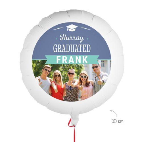 Ballong till examen – eget foto