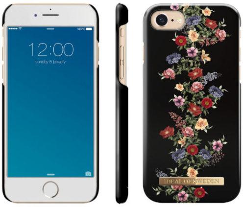 iPhone X Deksel med rosemaling