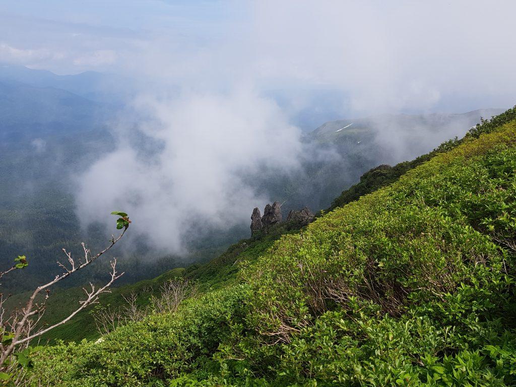 ClimbingKurodake (mt. Kuro)