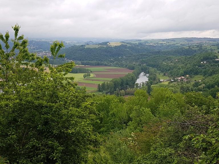 View above Decazeville