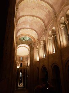 conques church ceiling