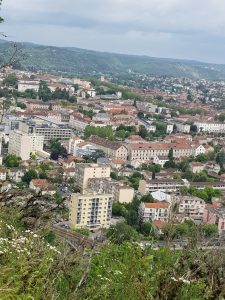 Cahors from above