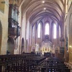 inside Moissac abbey