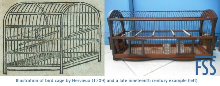 Hervieux bird cage 1709-fss