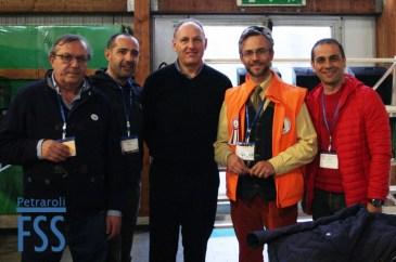 From L to R: Dario Sironi, Guglielmo Carillo, Joe Coakley, Antonio Petraroli, Gianmarco Orazi