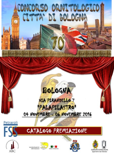 Show poster designed by Antonio Petraroli