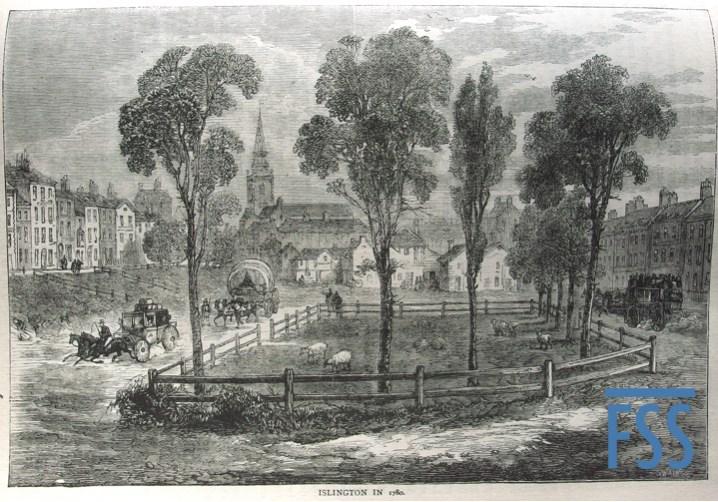 Islington in 1780