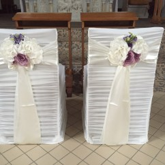 Bride And Groom Chair Covers Victorian Balloon Church Civil Ceremony Same Sex Marriage Decor Services