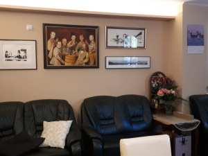 Meszaros Gablierra's tasting room and office in budapest, hungary