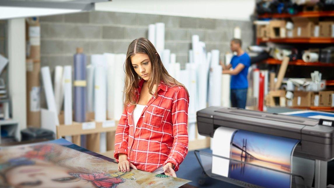 HP large format printing