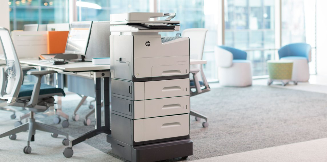HP managed print services - MPS