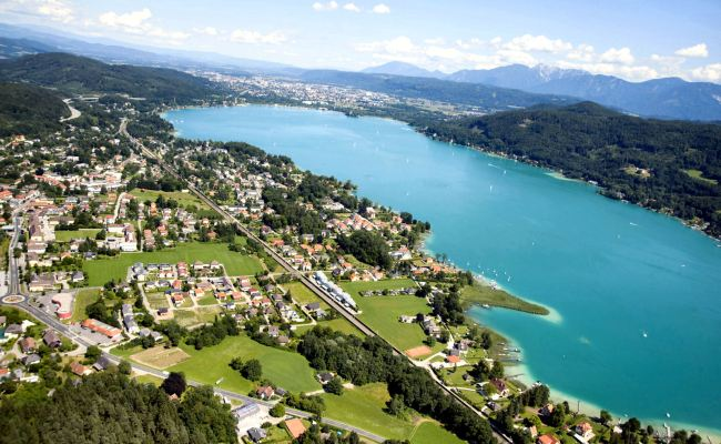 Visit And Explore Lake Worthersee Near Klagenfurt In
