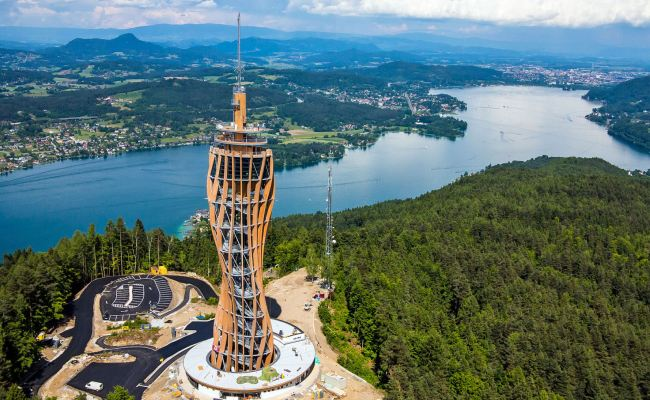 Visit The Pyramidenkogel Observation Tower In Klagenfurt