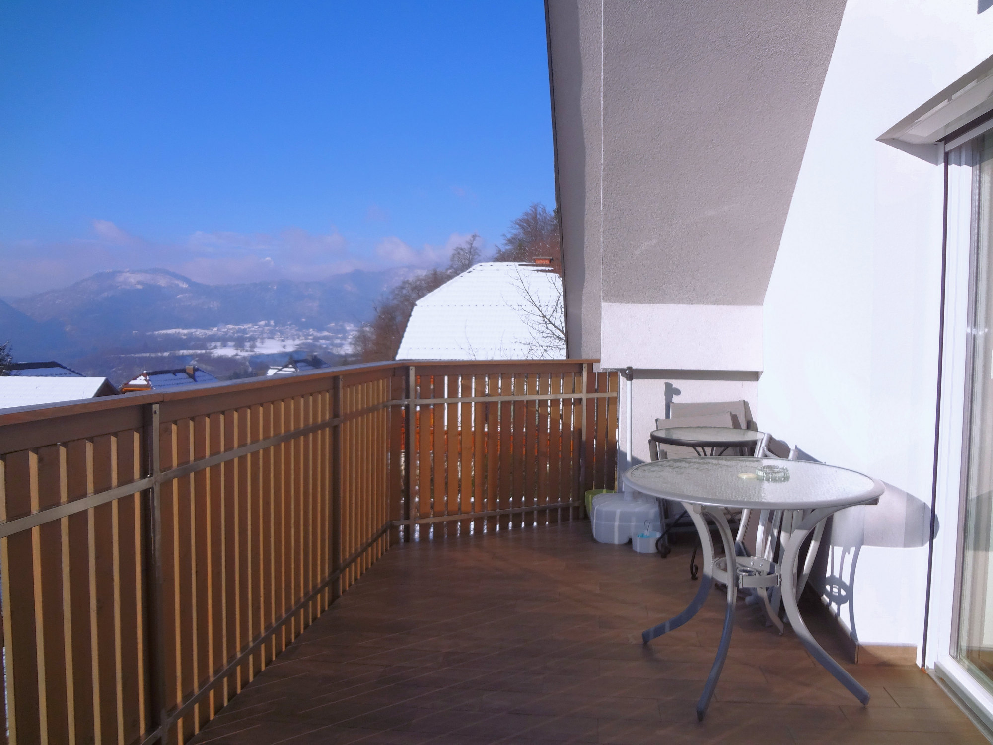 Modern Apartment with Large Balcony in the Bled area of Slovenia