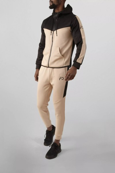 Finest Denim Tracksuit Beige