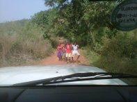 Sierra Leone Goderich il posto di blocco ballerino