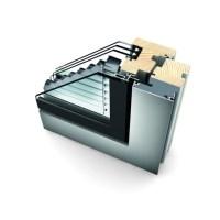Internorm HV350 - Doppia Finestra in Legno/Alluminio con Veneziana Integrata per Case Passive