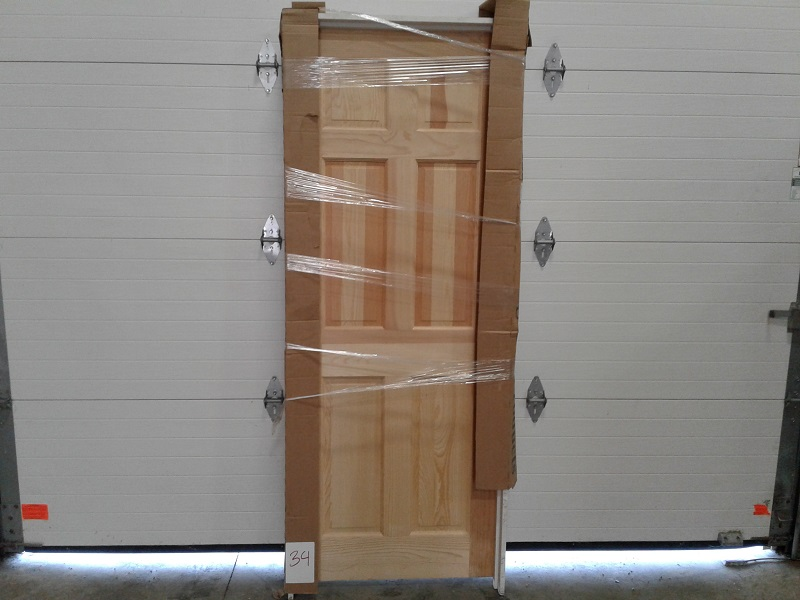 Interior Pre Hung 26x66 6 Panel Pine Clys000034 Finetco