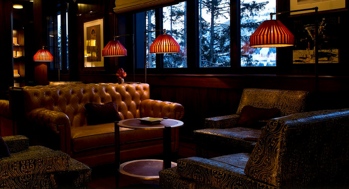 The Cigar Lounge at the Alpina Gstaad Switzerland  Fine Tobacco NYC