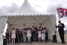Fine Voice Chorus at the Southsea Show