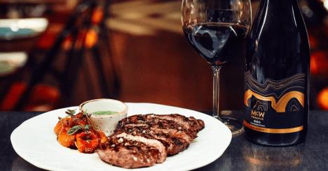 Syrah and steak