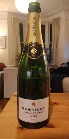 Monsigny Champagne Bottle