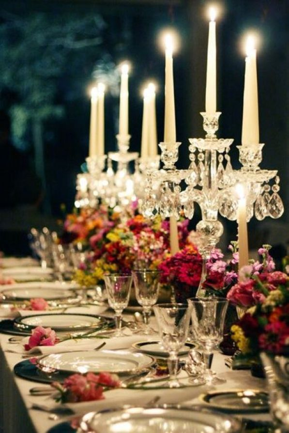 Candles and Florals | imgfave.com