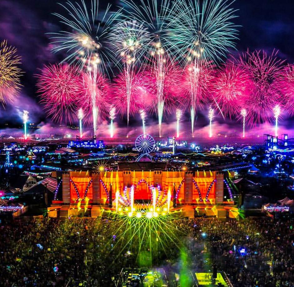 EDC fireworks