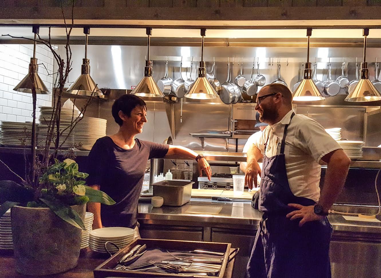 Hawks Nasira and Chef