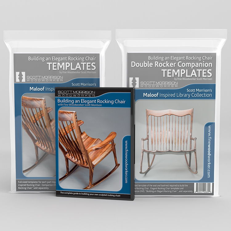 building a rocking chair waiting area chairs learn how to build an elegant with scott morrison