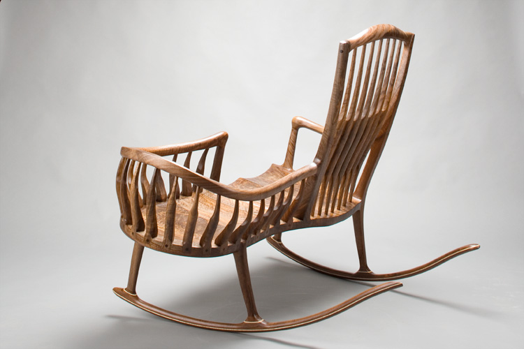 rocking chair and cradle in one swing cushions india maloof inspired double rocker templates by scott morrison
