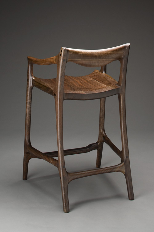 rocking chair and cradle in one wingback accent chairs maloof-style sculpted bar stool