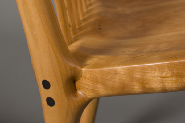 Handcrafted Contemporary Rocking Chair by Scott Morrison
