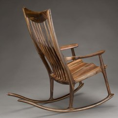 Rocking Chair Fine Woodworking Cover In Australia Classic Maloof Style By Scott Morrison Woodworker