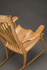 Classic Maloof Style Rocking Chair by Scott Morrison Fine ...