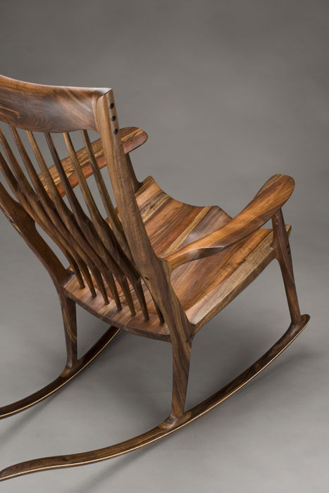 rocking chair fine woodworking office store classic maloof style by scott morrison woodworker