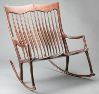 Maloof Inspired Double Rocker Templates by Scott Morrison