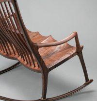 Double Rocking Chair, Walnut Rocking Chair, Chair Maker ...