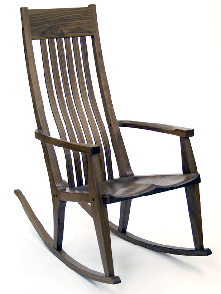 most comfortable rocking chair evenflo expressions high handmade chairs by scott morrison