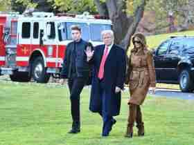 Mika Brzezinski Says Barron Trump is not the Biological Son of President Trump 8