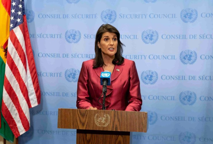 """Nikki Haley to CBS """"There's Nothing that Warrants the Death Penalty for the President."""" 24"""