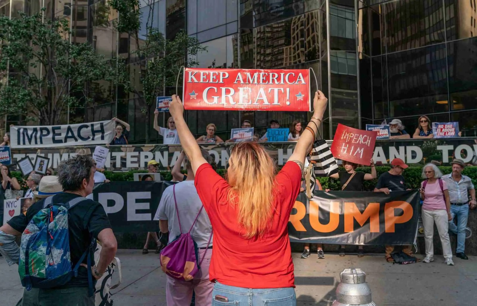 Trump to Have Articles of Impeachment Filed Against Him Tomorrow 7