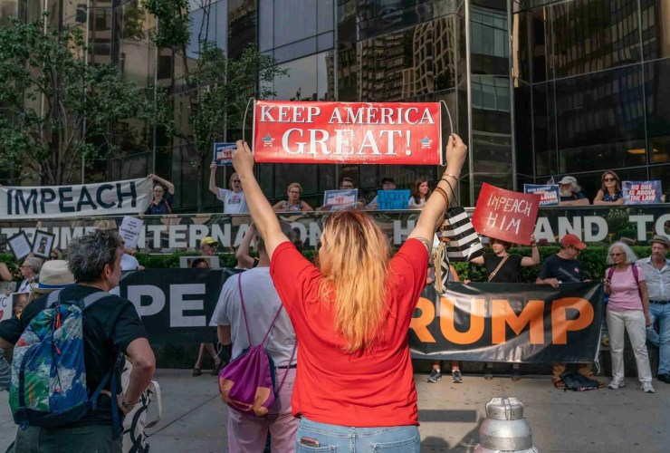 Trump to Have Articles of Impeachment Filed Against Him Tomorrow 27