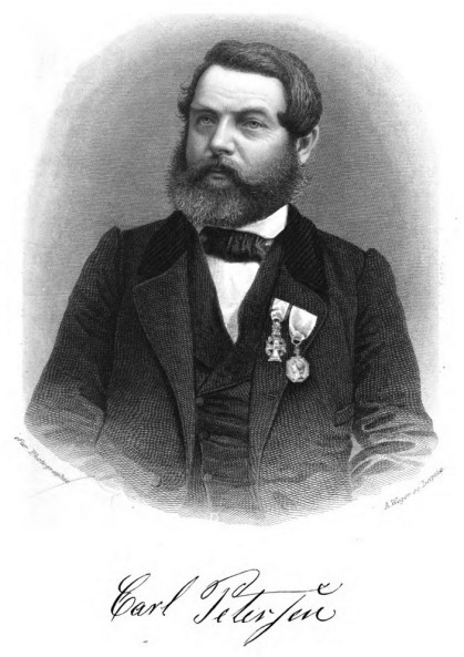 Portrait of Carl Petersen