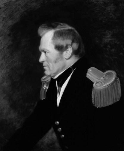 A portrait of Sir John Richardson