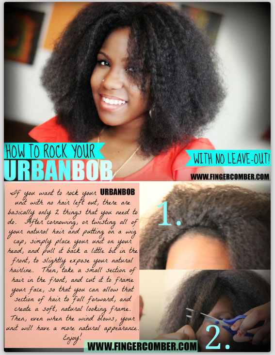 how to rock your urban bob unit