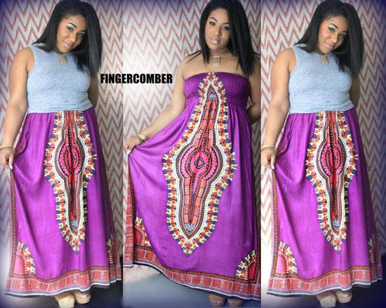 Marrakesh Dashiki Dress