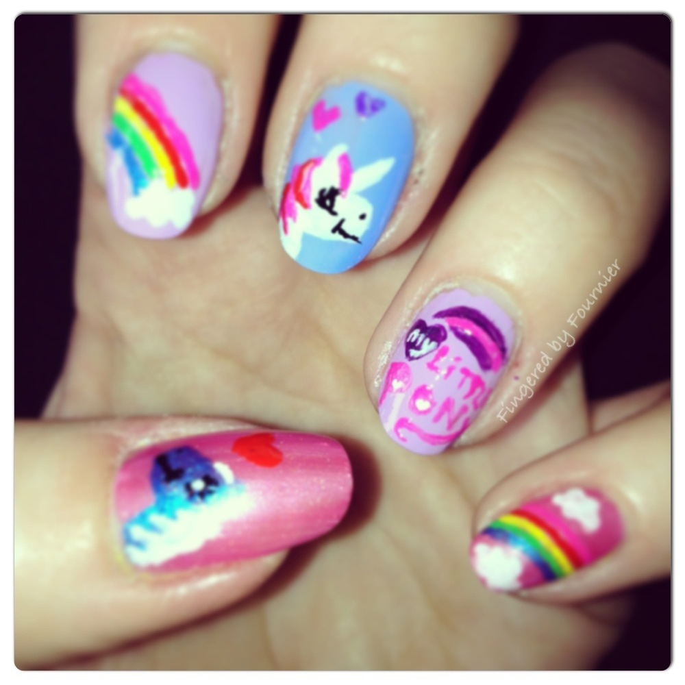 little pony nail design - veterinariancolleges